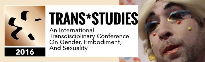 2016 Trans*studies